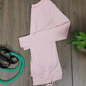 Lucy XS light pink long sleeved shirt